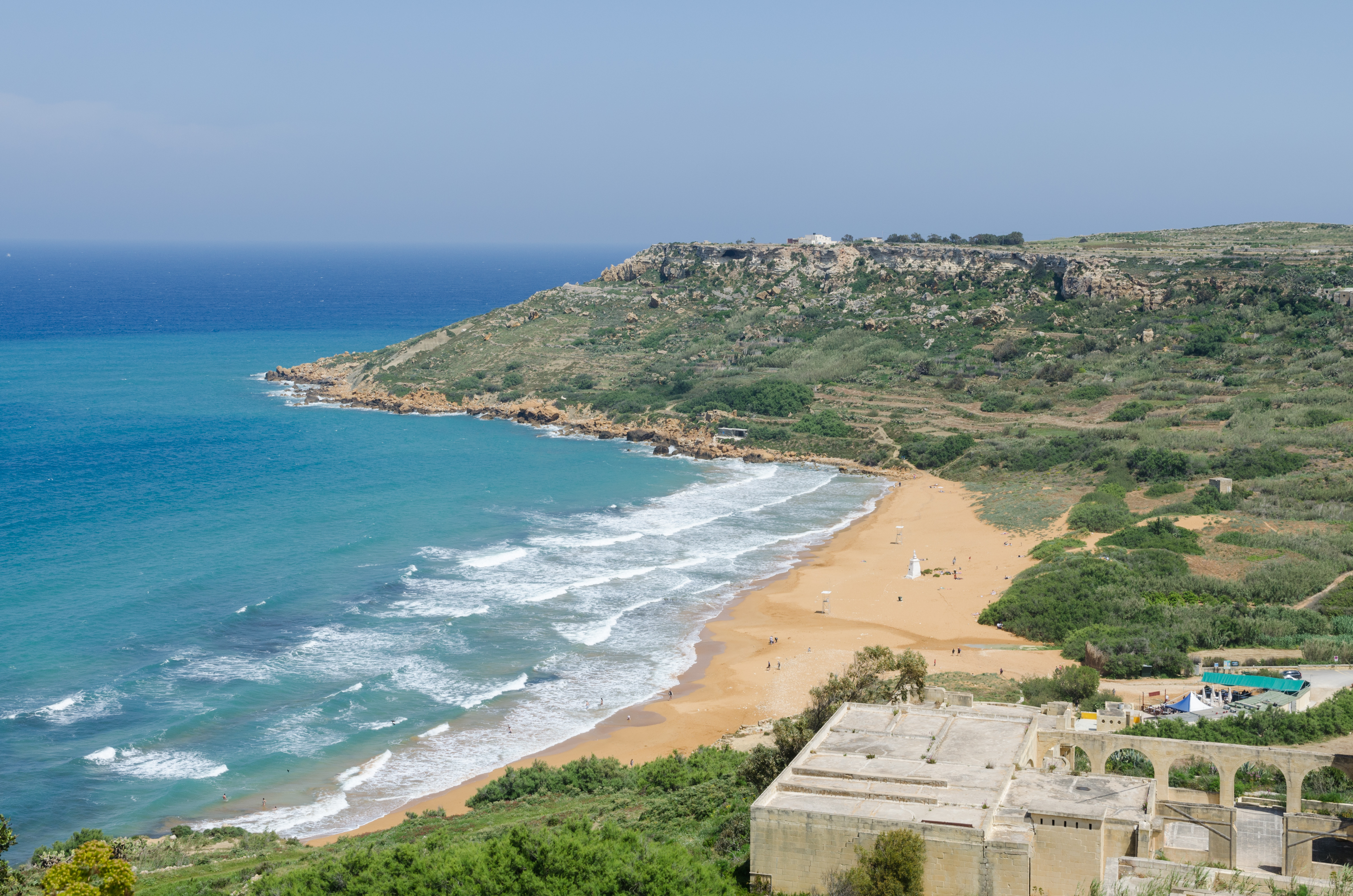 West view of Ramla Bay, Gozo