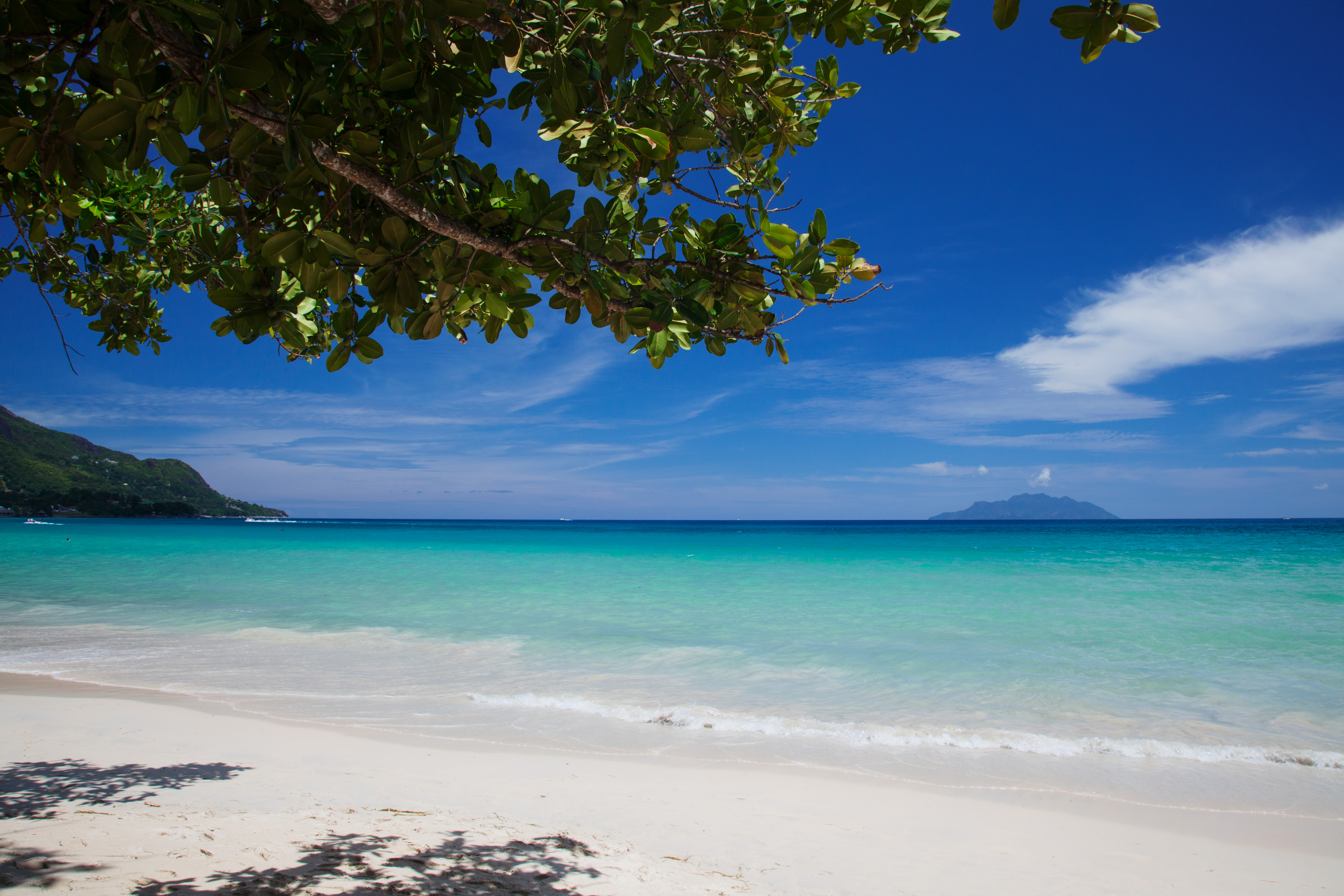 Beauvallon Beach, Mahé, Seychelles